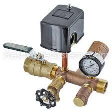 Pressure Switch and Gauge